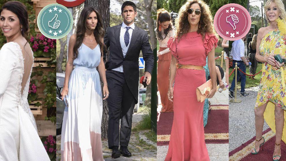 Ana Boyer, Rosario Flores, Sara Verdasco... Analizamos los 'looks' de la boda más flamenca del año