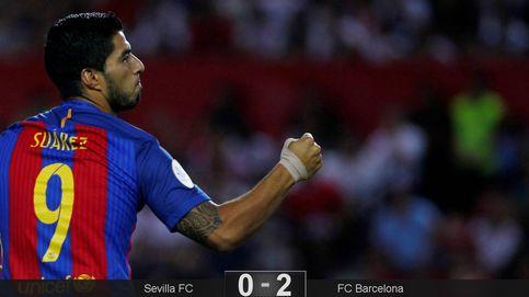 El Sevilla está demasiado tierno para hacerle daño al Barça de Luis Suárez