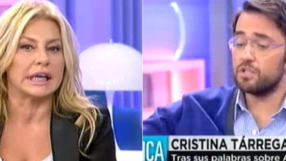 Màxim Huerta abronca a Cristina Tárrega por sus palabras