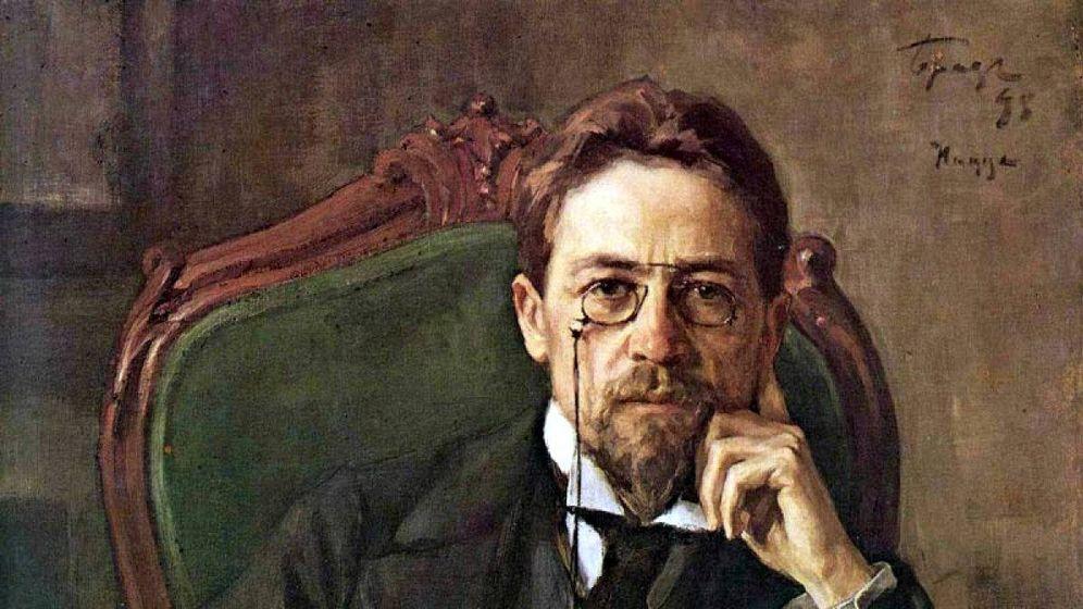 Foto: Retrato de Chéjov de Osip Braz, en 1898.