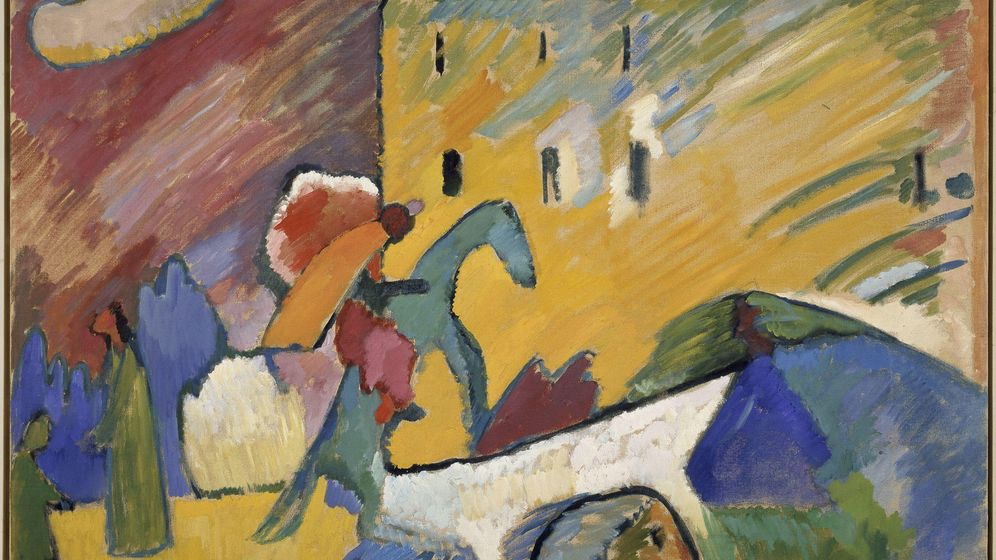 Foto: Kandinsky - 'Improvisación III' (1909)