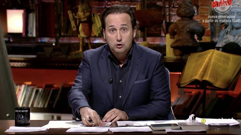 Iker Jiménez en 'Cuarto Milenio'. (Mediaset Esoaña)