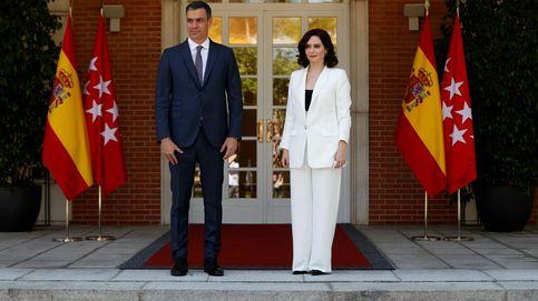 Ayuso culmina en Moncloa su salto nacional y sienta las bases de su oposición a Sánchez