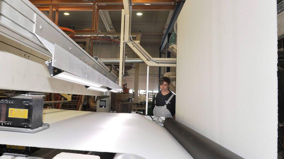Foto: Fábrica de papel en Alemania. (EFE)