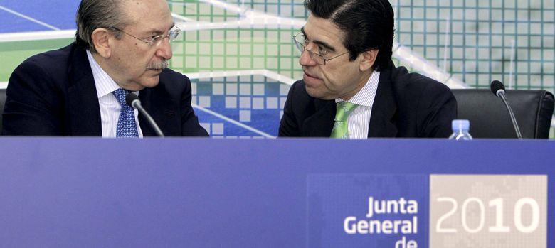 Foto: Luis del Rivero y Manuel Manrique. (EFE)