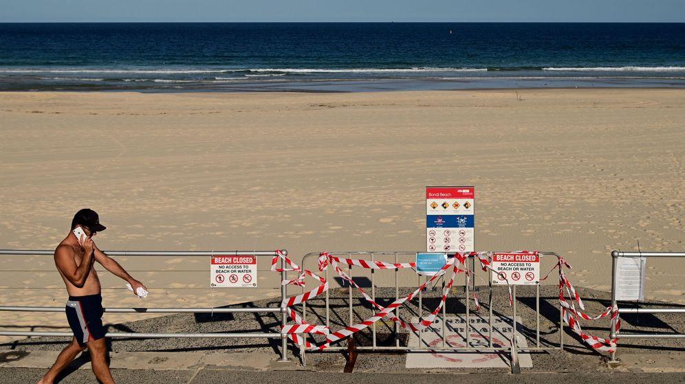 Foto: Una playa en Sídney. (EFE)