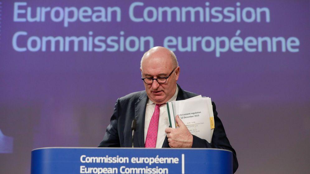 Foto: Phil Hogan, comisario de Comercio de la Comisión Europea. (EFE)
