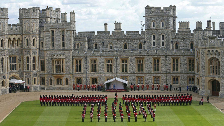 El castillo de Windsor, en todo su esplendor. (Reuters)