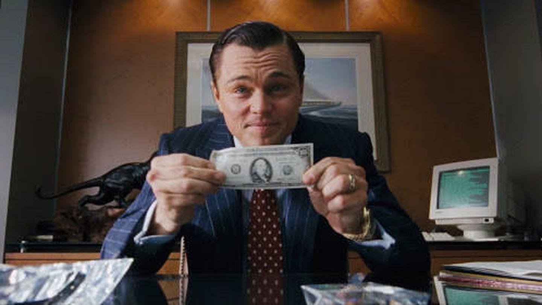 Leonardo DiCaprio, en 'El lobo de Wall Street'.