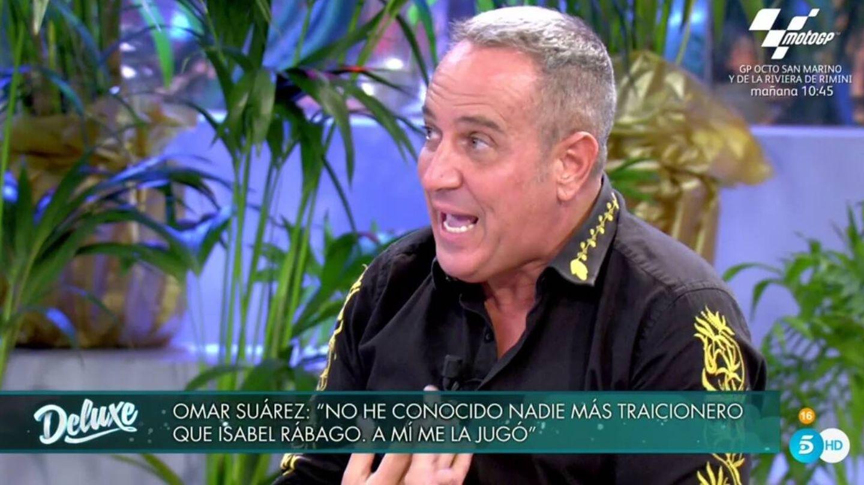 Víctor Sandoval, en 'Sábado Deluxe'. (Telecinco).