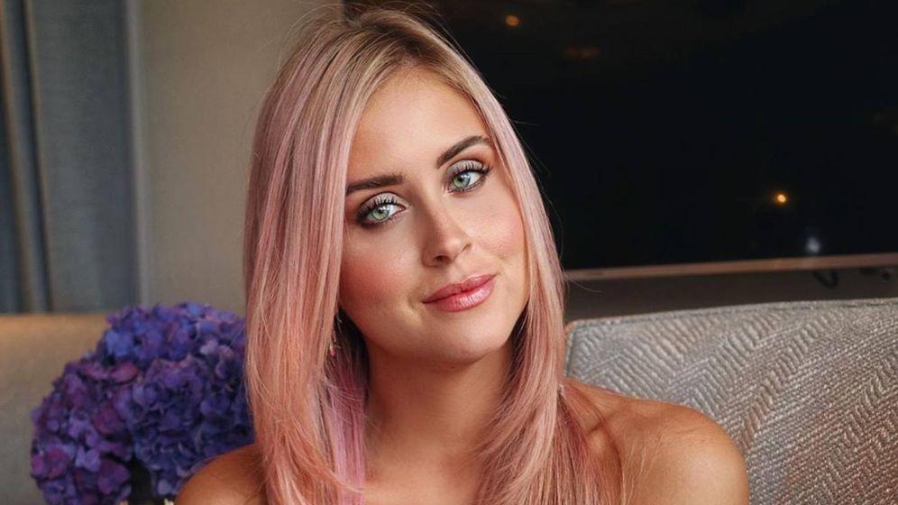 Foto: Valentina Ferragni ha cambiado también su color de pelo. (Instagram @valentinaferragni)
