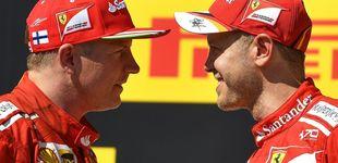 Post de Las chinas en los zapatos de Raikkonen y Vettel... es difícil estar tranquilo en Ferrari