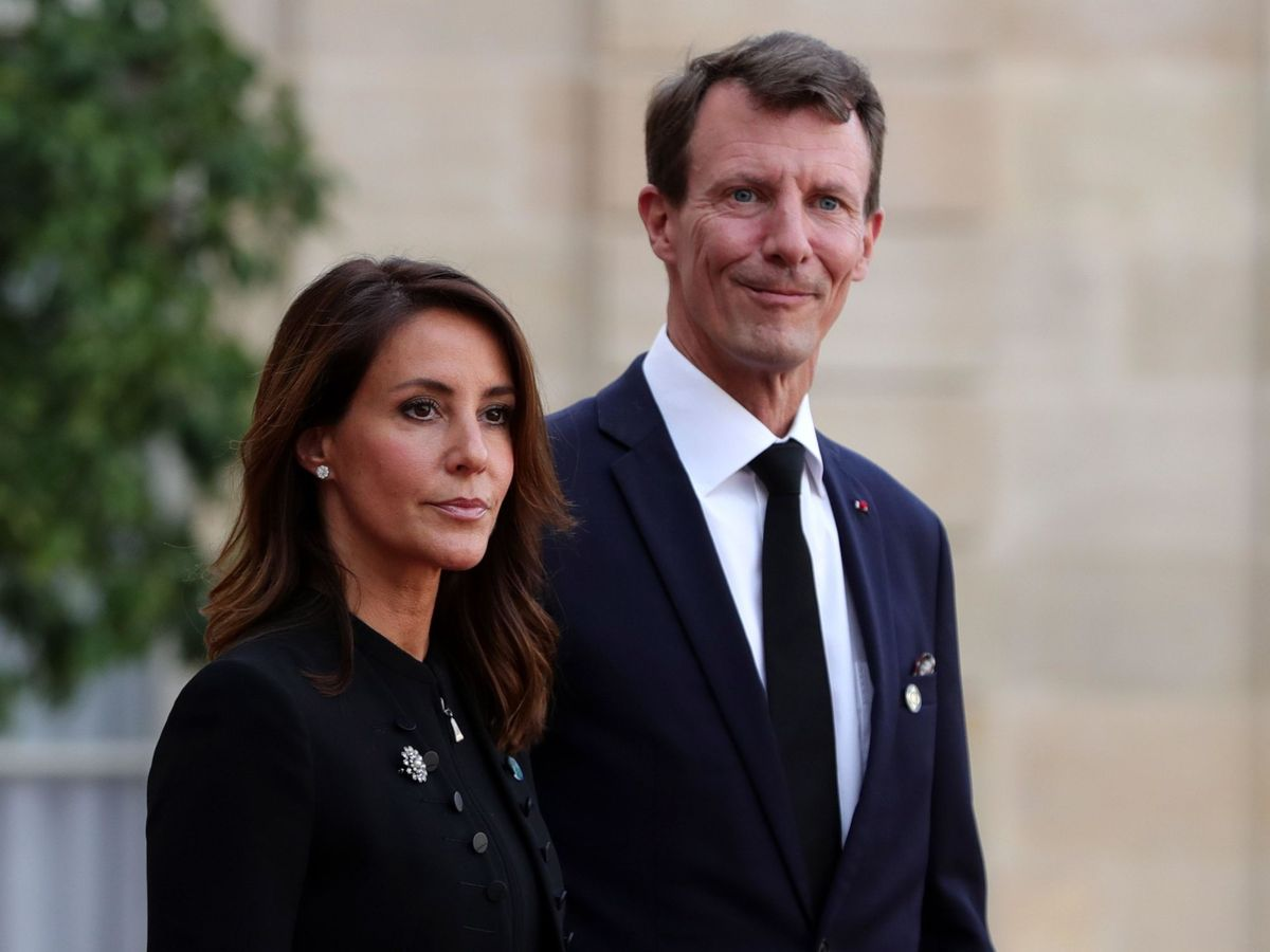 Foto: El príncipe Joaquín y la princesa Marie, en una imagen de archivo. (EFE)