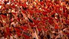 Pamplona despide los Sanfermines con el 'Pobre de mí'