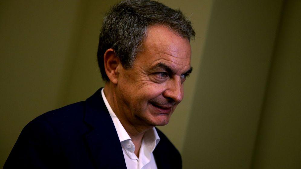 Foto: l expresidente del Gobierno español José Luis Rodríguez Zapatero en la entrevista con la Agencia EFE. (EFE)