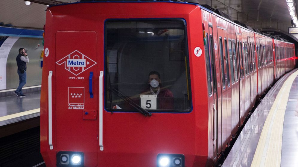 Foto: El Metro de Madrid. (EFE)
