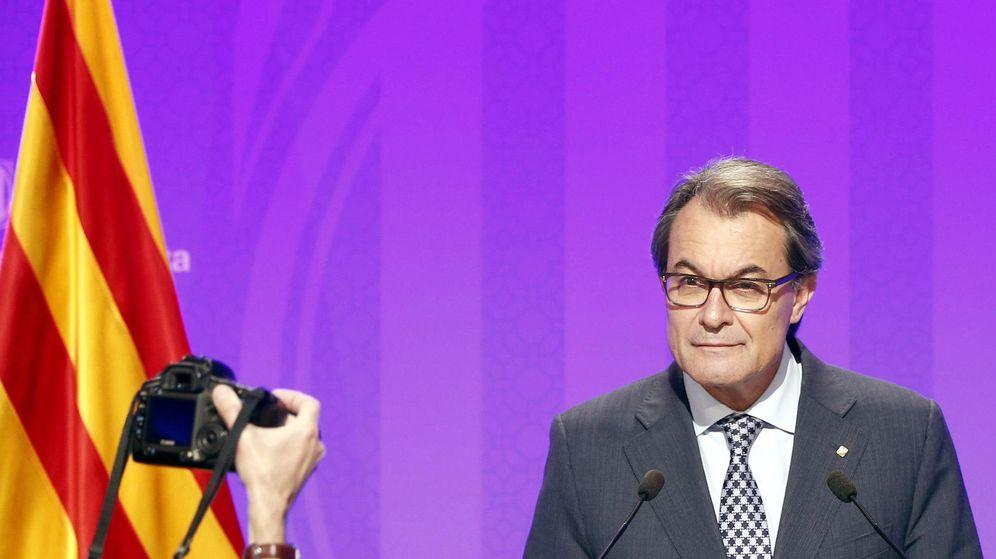 Foto: El presidente de la Generalitat en funciones, Artur Mas. (EFE)