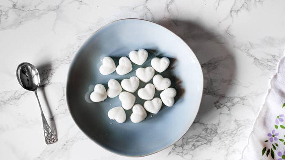 Cómo hacer azucarillos con forma de corazón