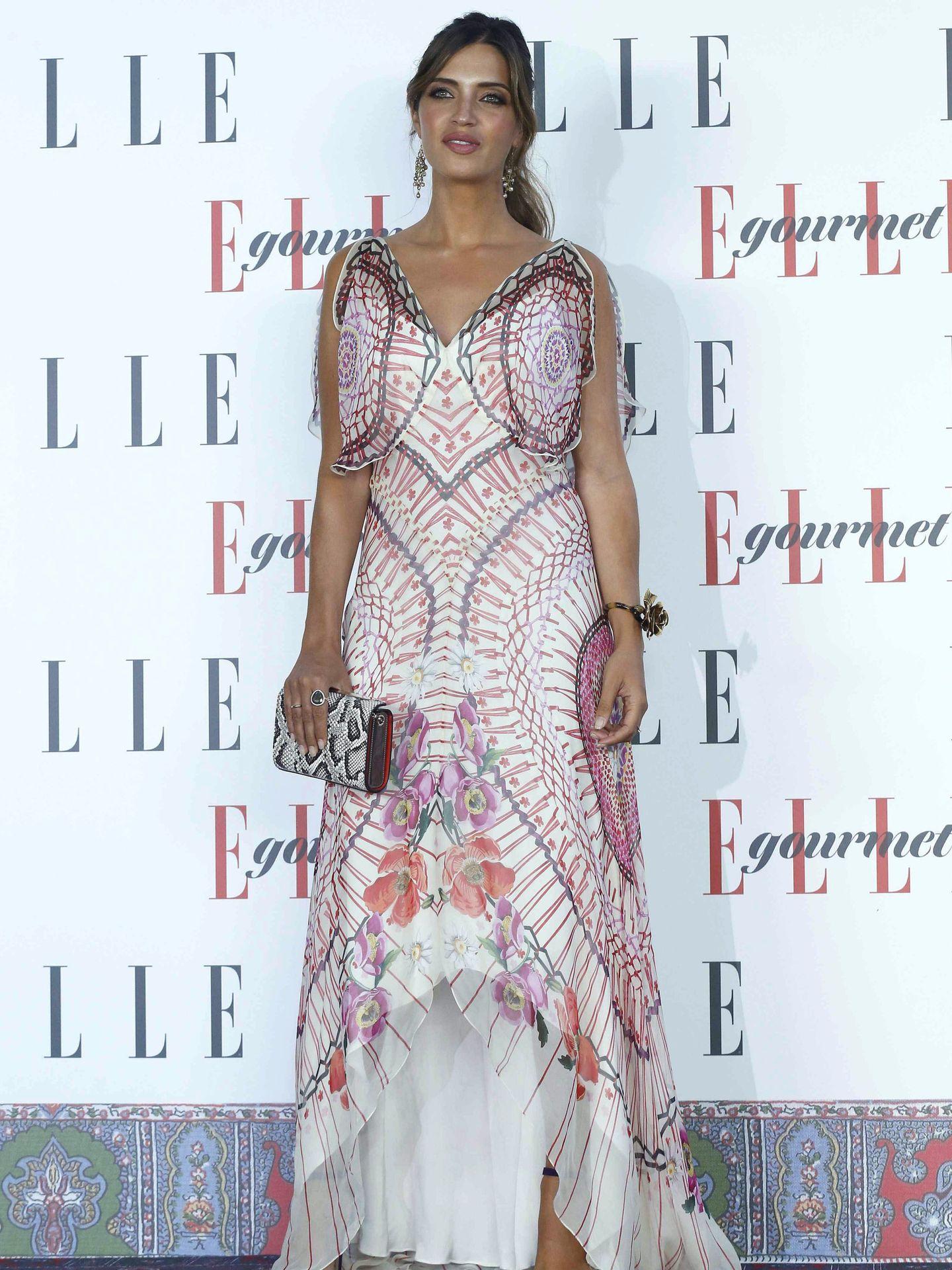 La presentadora Sara Carbonero, en los Premios Elle Gourmet. (EFE)