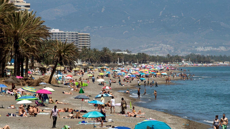 Playa de La Carihuela, de Torremolinos.
