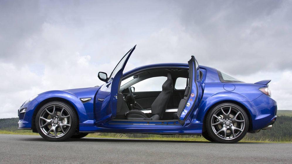Foto: Mazda RX8, un deportivo innovador que montaba un potente motor rotativo.