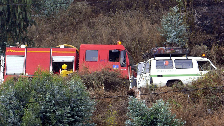Foto: Equipos de emergencia en Gran Canaria. (EFE)