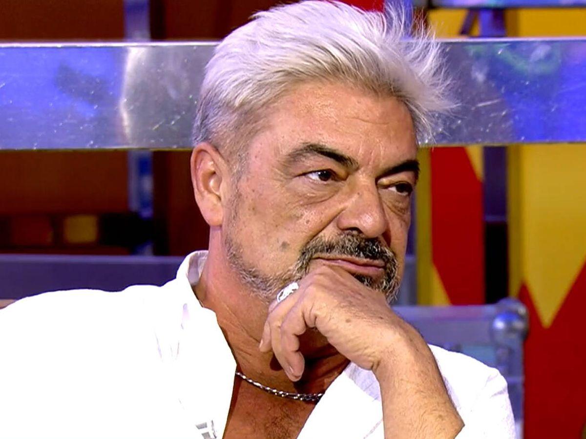 Foto: Antonio Canales, en 'Sálvame'. (Telecinco)