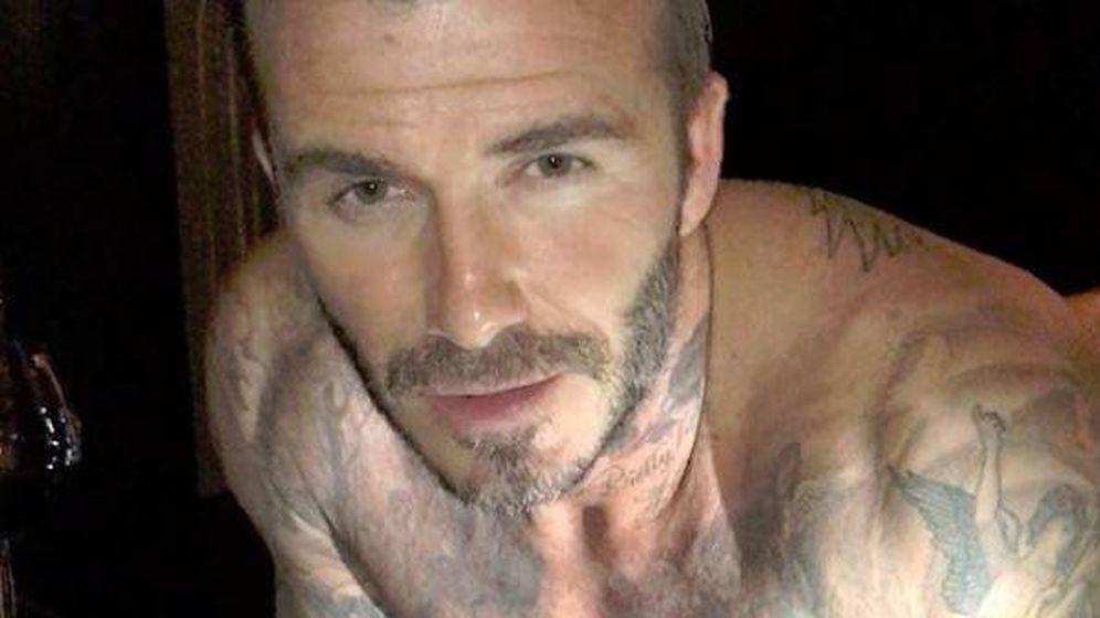 Foto: David Beckham en una imagen de su perfil de Instagram.