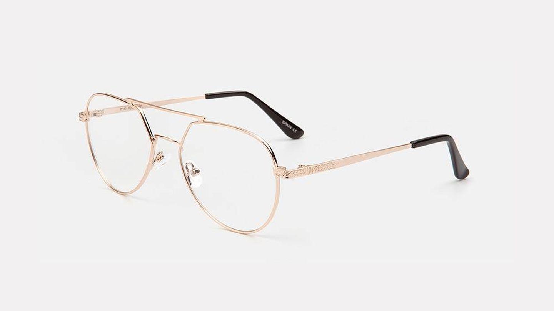 Gafas con cristales antirreflejo de MO.