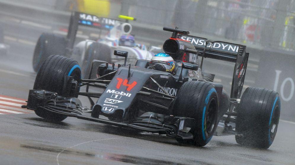 Foto: Fernando Alonso, este domingo, en el circuito de Mónaco.