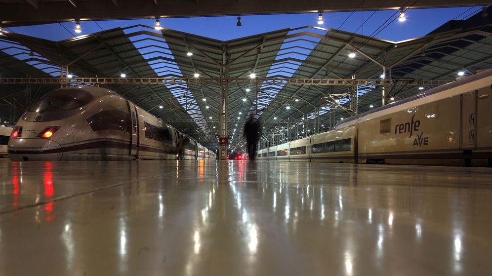 Foto: Imagen de archivo de la estación de tren María Zambrano. (Reuters)
