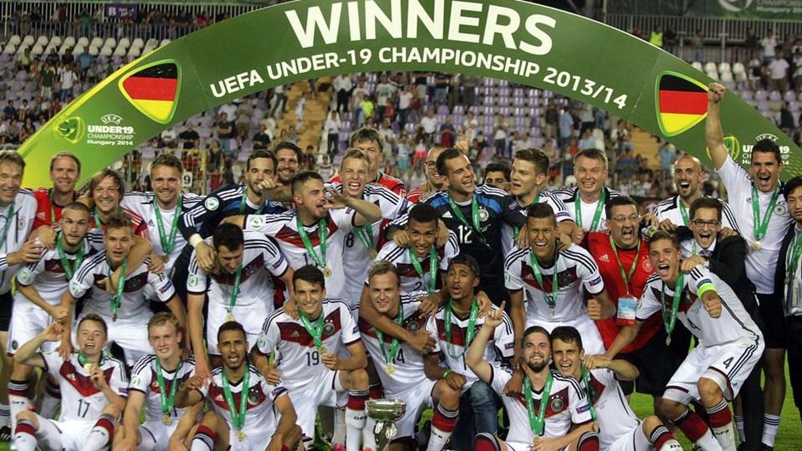 Foto: Alemania ganó la edición de hace un año (Foto: UEFA)