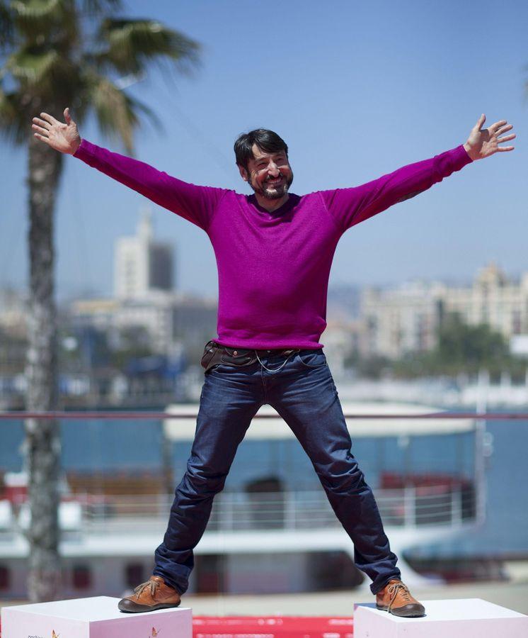 Foto: El actor Carmelo Gómez posa durante la presentación de la película 'Tiempo sin aire' en Málaga. (EFE)