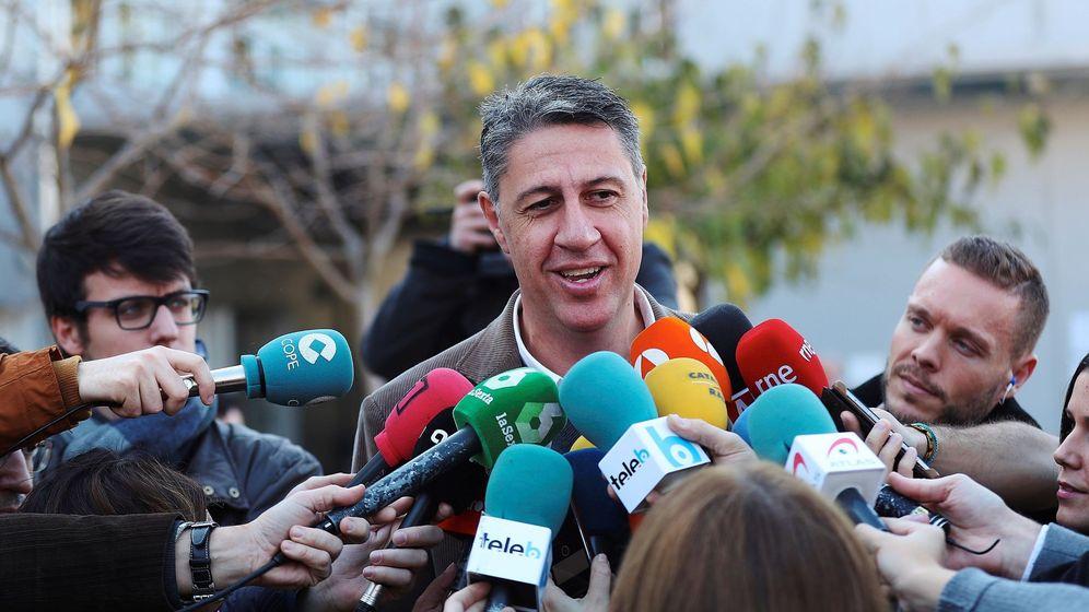Foto: El cabeza de lista a la presidencia de la Generalitat por el PPC, Xavier García Albiol. (EFE)