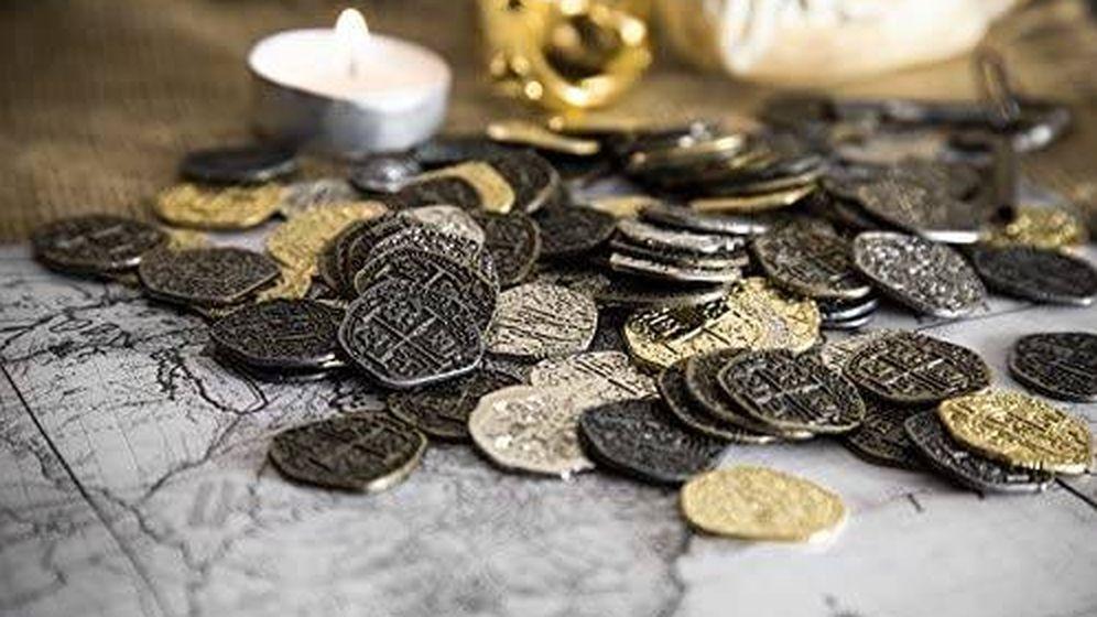 Foto: Monedas del siglo XVII