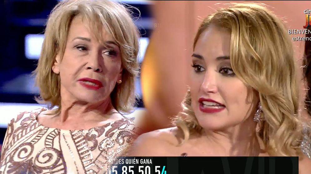 Foto: Mila Ximénez y Alba Carrillo, en 'GH VIP 7'. (Telecinco)