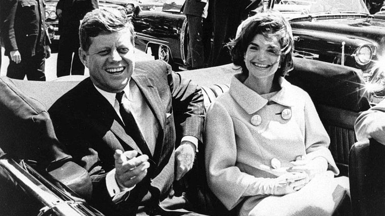 El matrimonio meses antes del asesinato del presidente (Gtres)