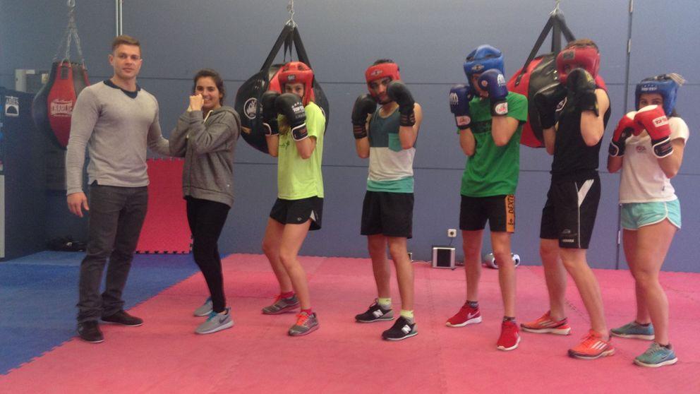 Tribox, triatletas con guantes para una mente fuerte en un cuerpo sano