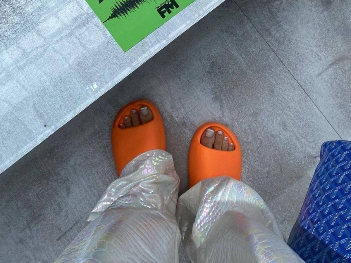 Foto: Así son las nuevas sandalias que triunfan en las redes sociales. (Instagram @thora_valdimars)