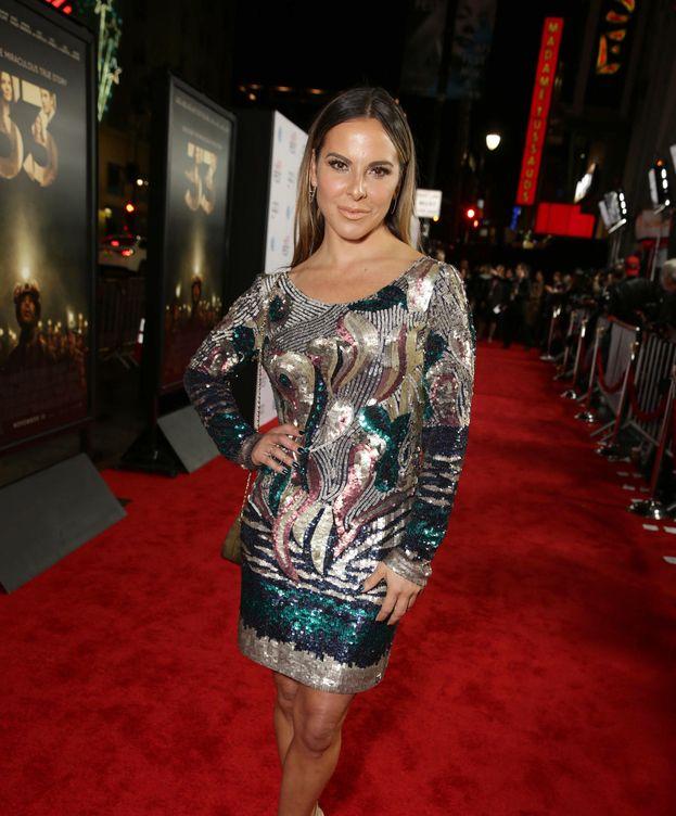 Foto: La actriz Kate del Castillo en la alfombra roja (Gtres)