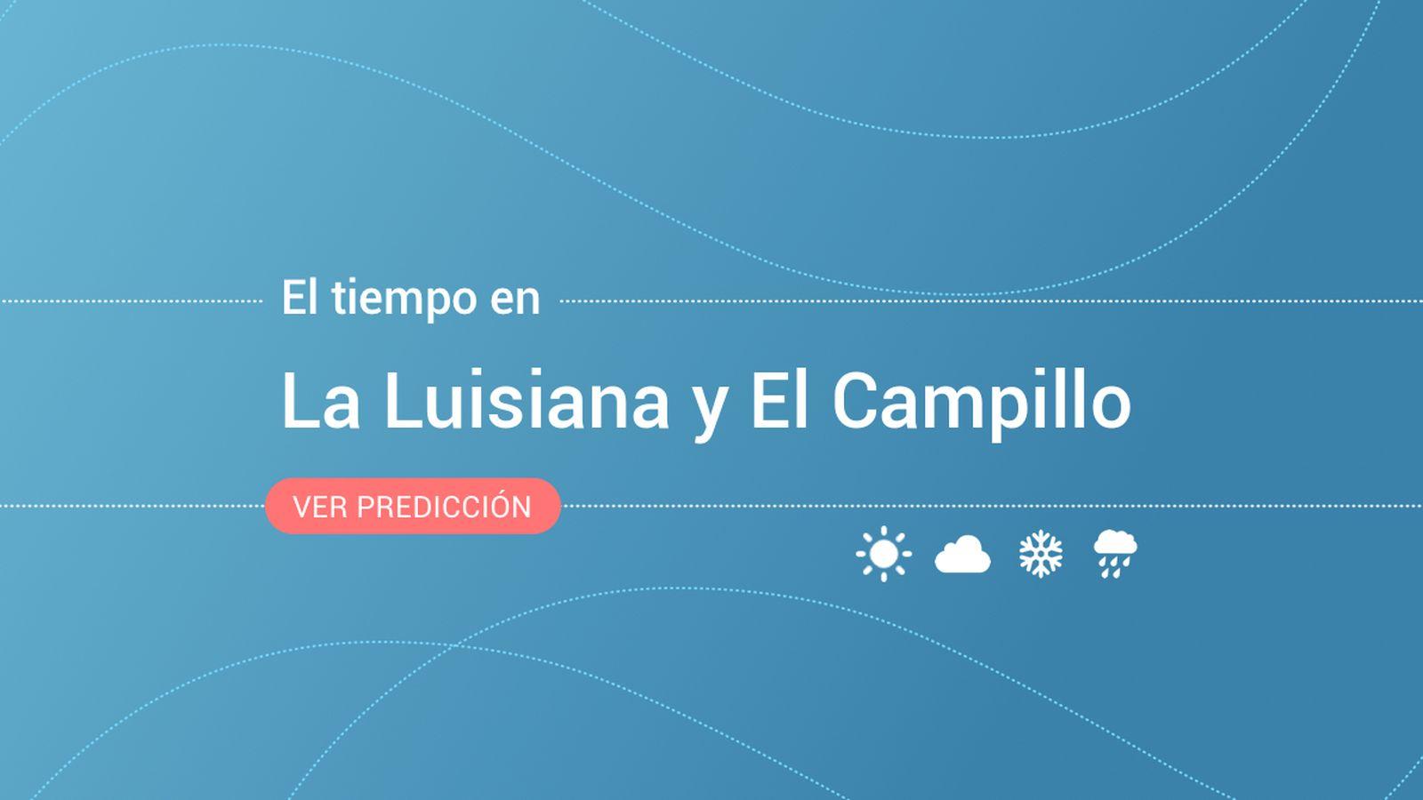 Foto: El tiempo en La Luisiana y El Campillo. (EC)