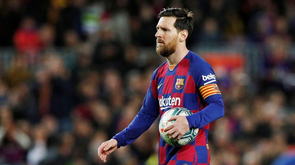 Foto: Leo Messi marcó el gol de la victoria del FC Barcelona ante la Real Sociedad el pasado fin de semana. (Reuters)