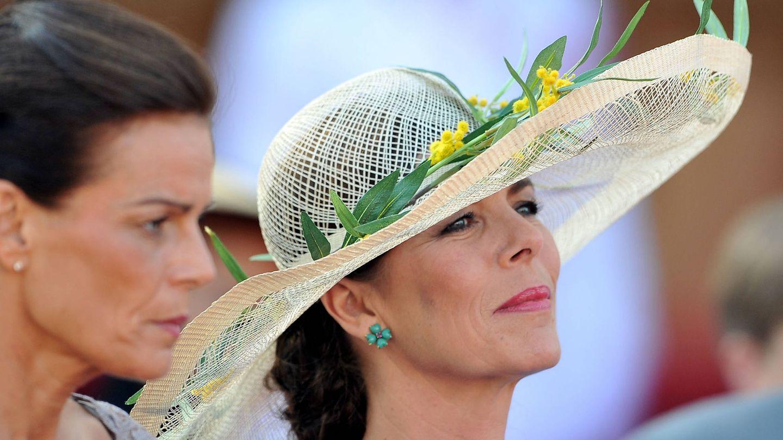 Carolina de Mónaco, durante la boda civil del príncipe Alberto. (Getty)