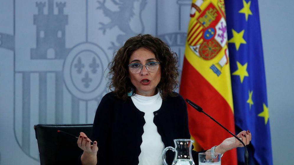 Foto: La ministra de Hacienda y portavoz del Gobierno, María Jesús Montero (EFE)