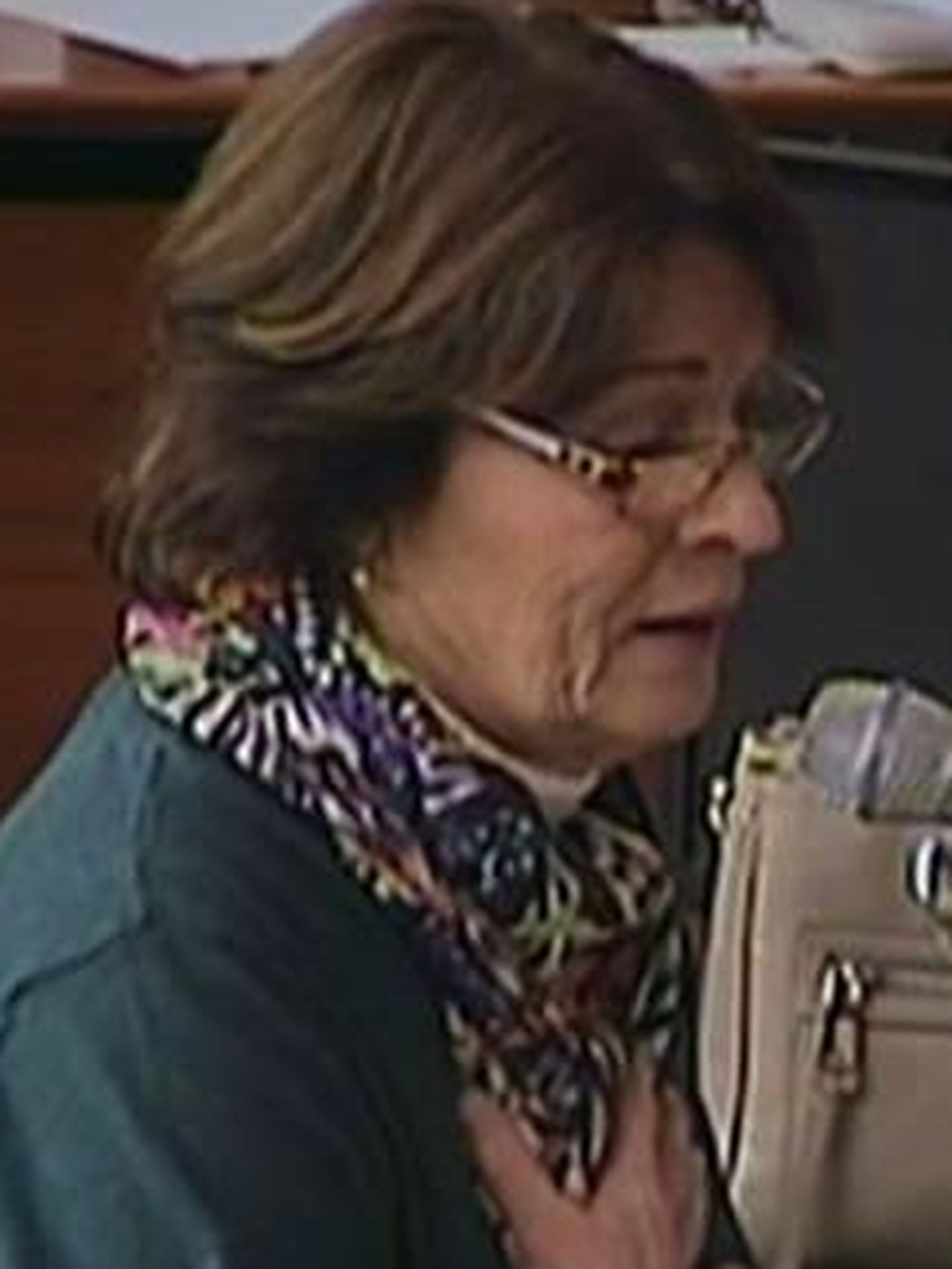 Rosa Garicano durante su declaración judicial