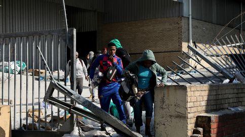 El balance de muertos en las protestas de Sudáfrica aumenta a 212
