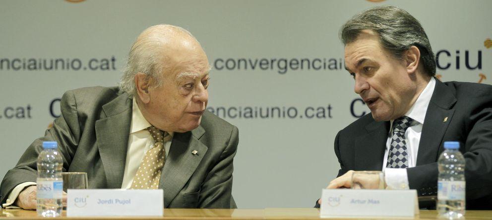 Foto: Jordi Pujol y Artur Mas. (Efe)