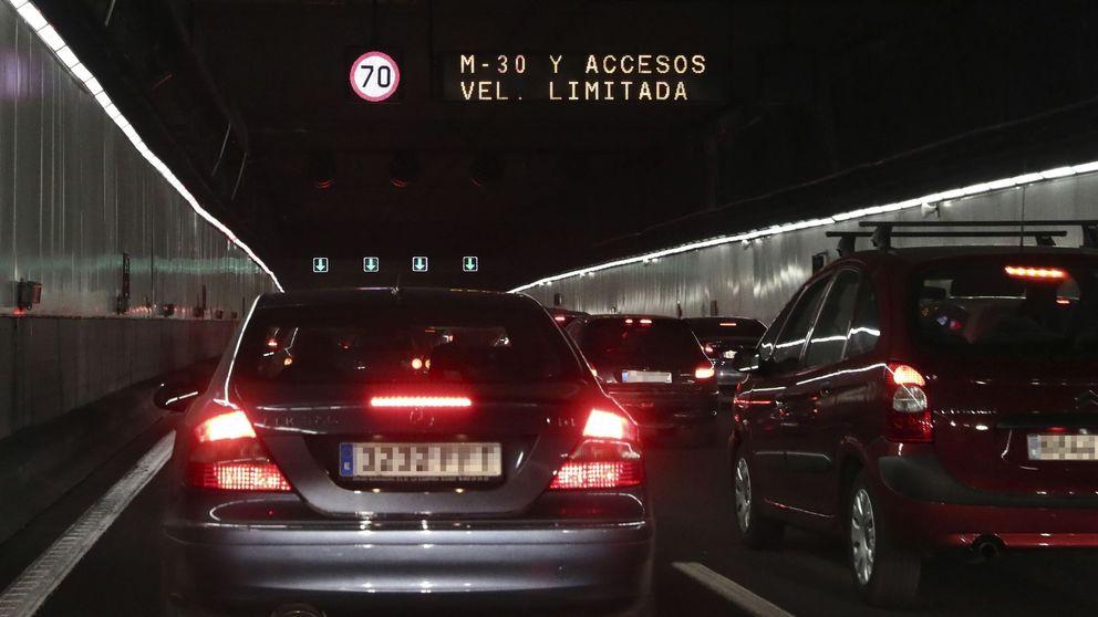 La lluvia obliga a cortar de nuevo varios túneles en Madrid por filtraciones de agua