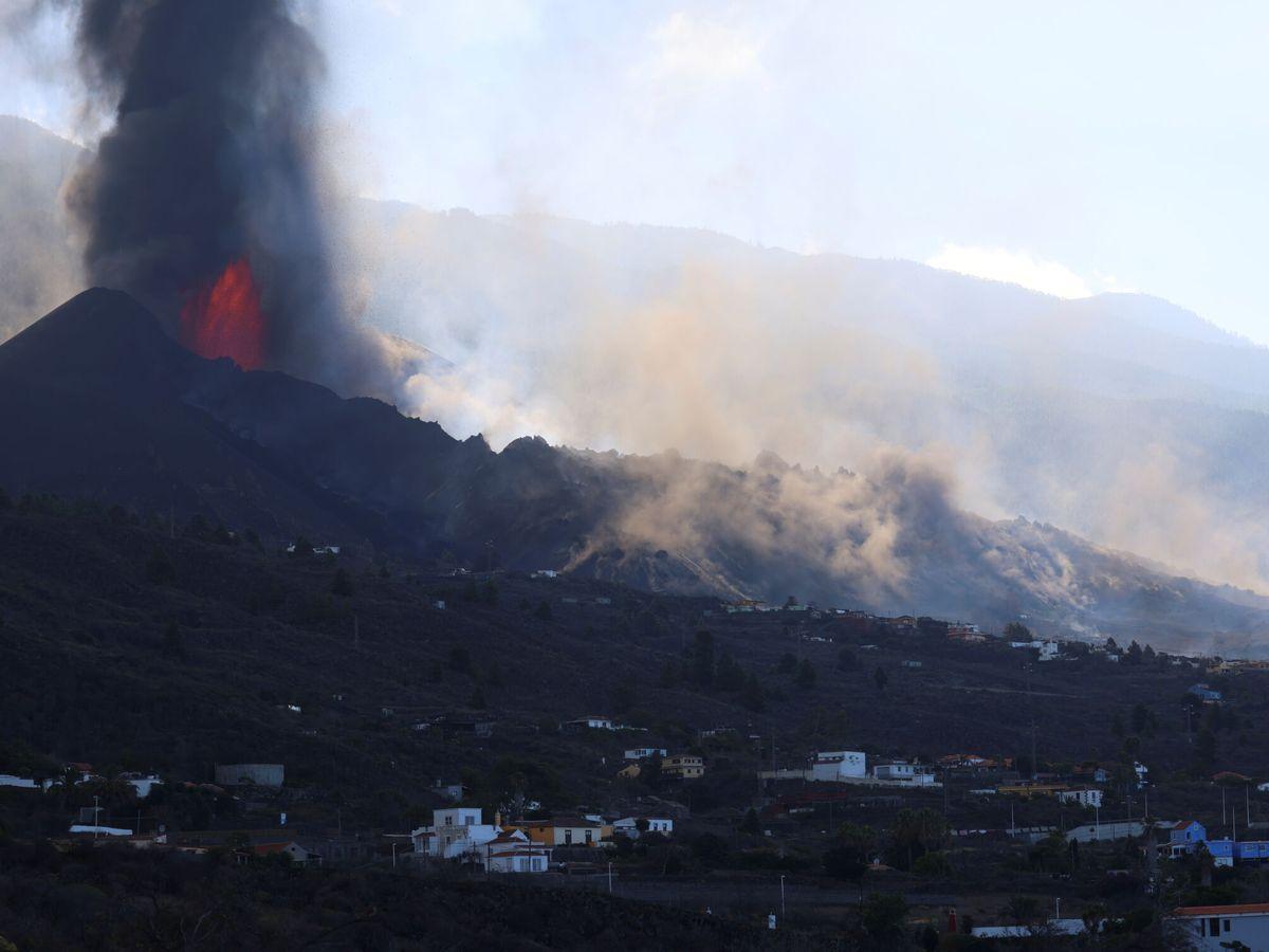 Foto: Volcán de La Palma. (Reuters)