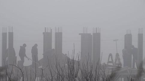 Una manta de niebla cubre Macedonia